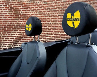Wu-Tang Clan Auto SUV Head Rest Covers