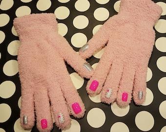 Fashionable Nail Art Gloves, Winter Gloves