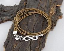 Infinity infinity bracelet silver