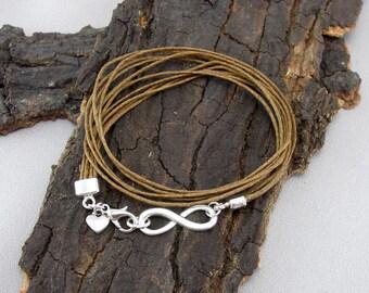 Infinity Infinity Bracelet Silver PLATED