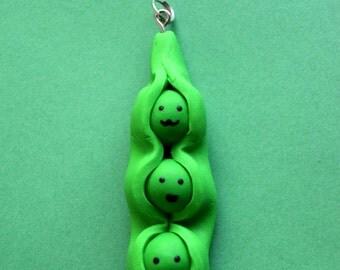 Cute Peas Charm