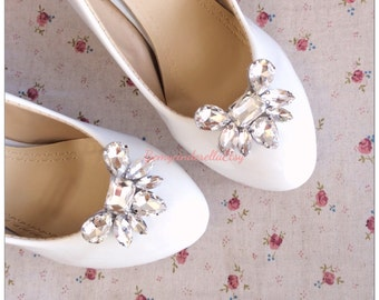 5 colors !!! Rhinestone Bridal shoes clips rhinestone wedding shoes clips Rhinestone shoes clips