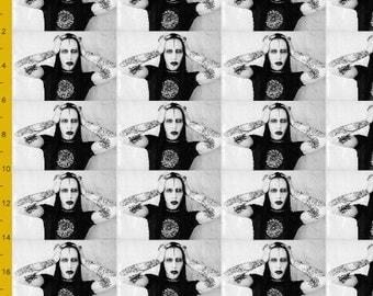 Marilyn Manson Fabric
