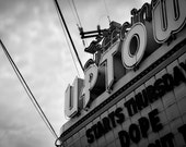 Art Photography, Cinema, Urban Background, Black&White Art - Uptown Cinema