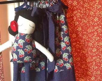 Pillow Case Dress with Matching Charlotte Doll