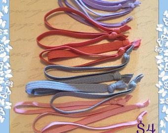Homemade hair ties