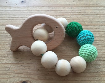 Rattle/Teether Fish