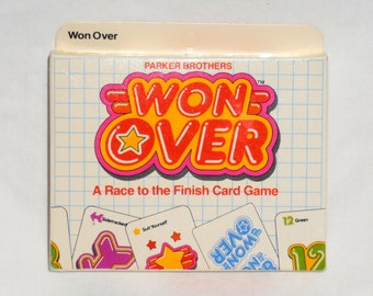 Won Over Card Game by Parker Brothers 1983 - UNOPENED
