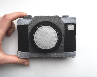 Toy Camera, Felt Toys, Felt Camera, plush camera, pretend play, baby camera, baby toys