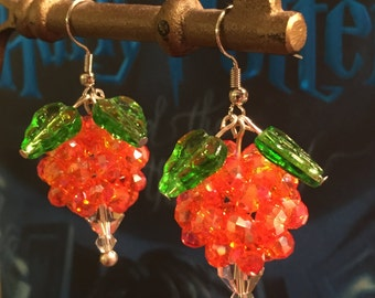 Dirigible Plum Earrings **Book Edition Color(Orange)**- Luna Lovegood inspired
