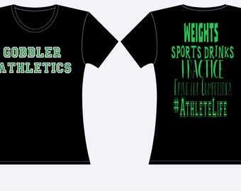 Athlete life spirit shirt!!