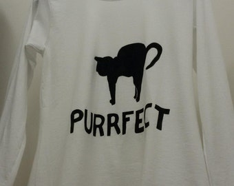 """T-shirt """"Purrfect"""""""