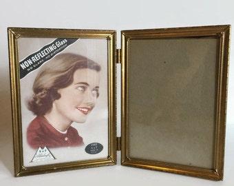 Vintage Picture Frames - Brass - Vintage Picture - 1950s