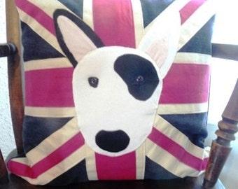 Cushion English Bull Terrier