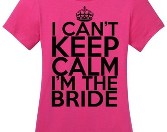 Wedding day bride T-Shirt