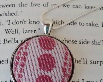 Pavo Gotham Camellia - Wrap Scrap Necklace - Pavo Gotham Wrap Scrap - Antique Silver Finish