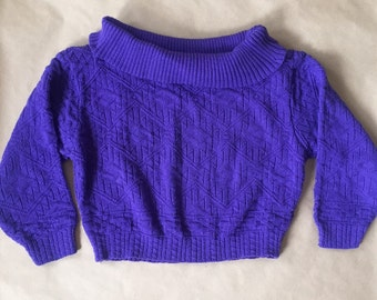 Women's cropped sweater