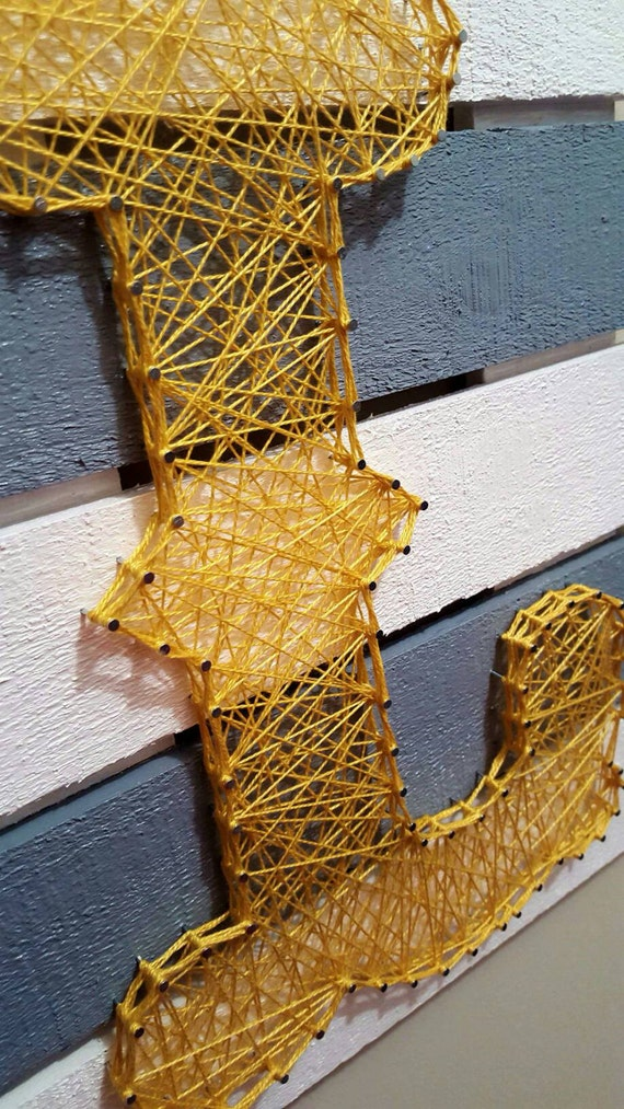 string art letters items similar to custom string letter l home 13736 | il 570xN.909722527 tqvf
