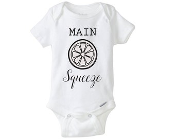 Main Squeeze Onesie, Cute Saying Bodysuit