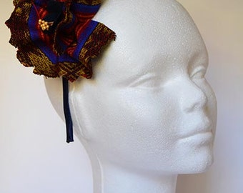 Ethnic headband flower Queen