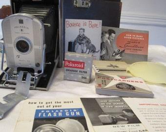 Vintage Mint Condition Polaroid Speedliner Land Camera Model 95B