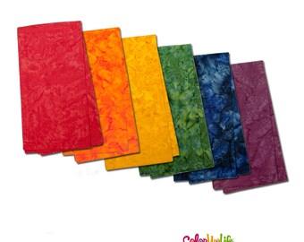 Watercolor Napkins - Colorful - 100% Cotton