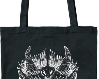 Black Swan Tattoo - Jutetetasche - Devil