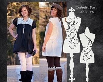 The Darling Dress (Women's Sizes) PDF Sewing Pattern