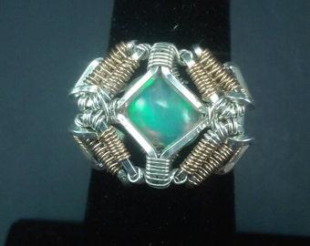 Ethiopian Opal Size 5 Ring