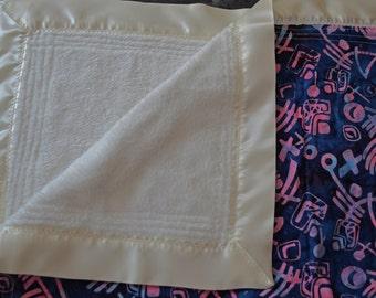Fuzzy Baby Blanket