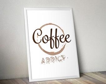 Coffee Addict Poster