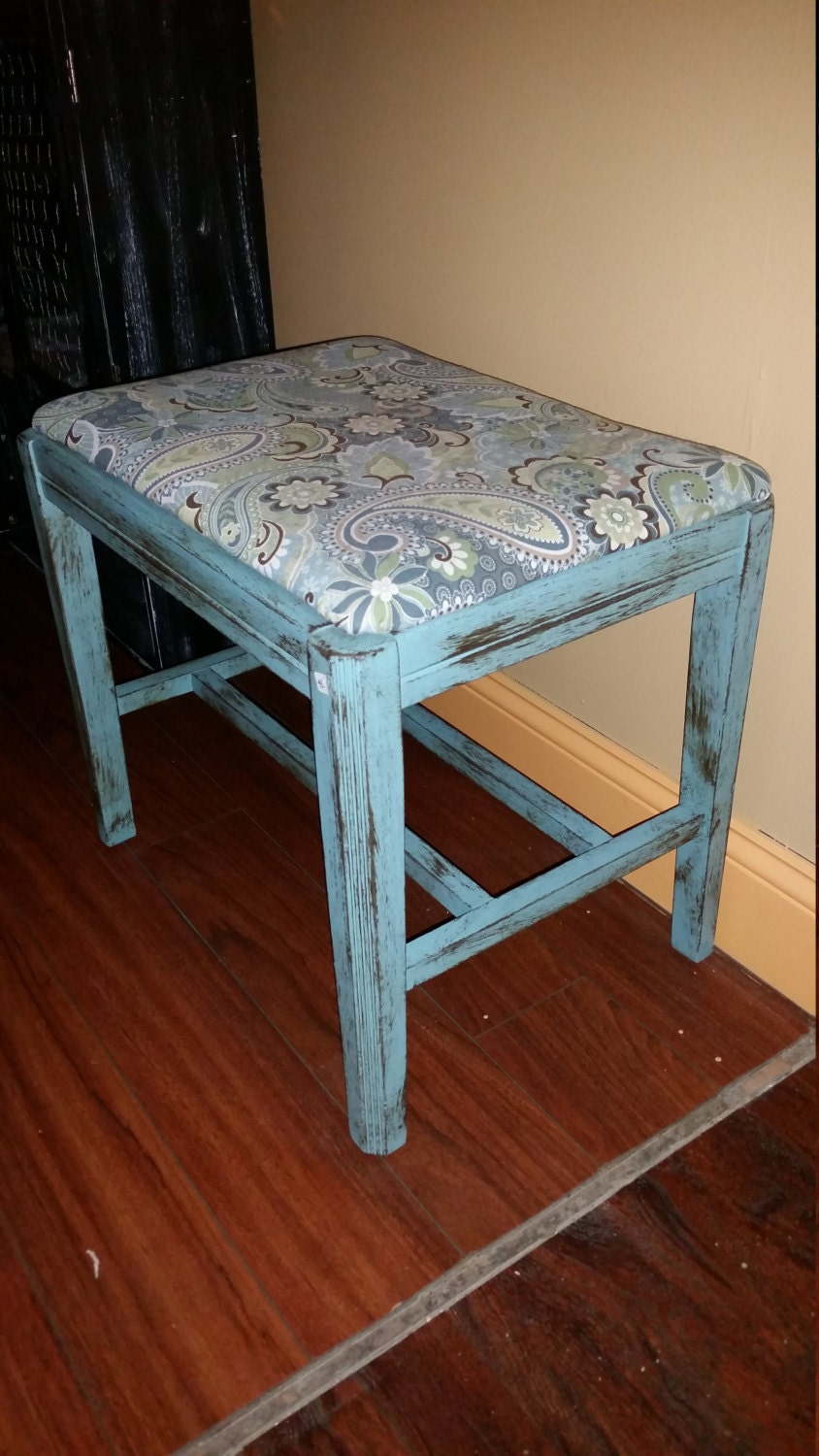 Small Bench Vanity Stool By Primitivesweets On Etsy