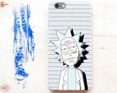 Rick and Morty Samsung phone S5, Cartoon Samsung Galaxy phone S4 Rick Sanchez S4 Samsung case Funny Case phone 5 iPhone phone 4s Galaxy S6