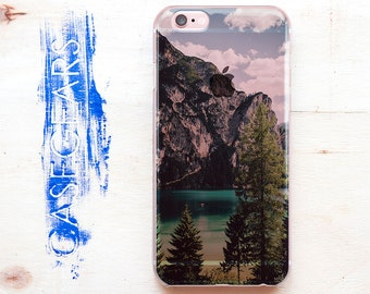 Nature 6 iPhone Case Phone Stone Case iPhone 5 Water Note 7 Case Cliffs iPhone 6 Plus Forest iPhone 5s Beautiful Design CGCP0074