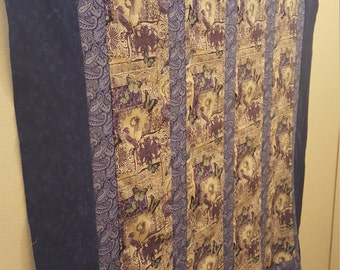 Butterflies & blue bird quilt
