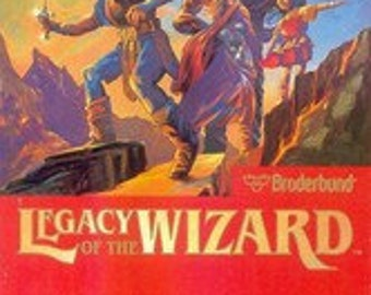 Legacy of the Wizard NES Video Game (loose)