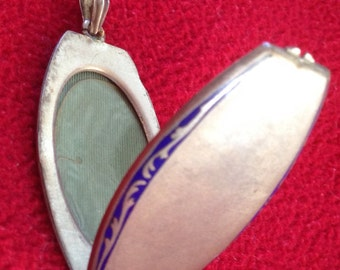 Antique Silver Plated Locket