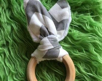 Teething ring Bunny (rabbit theeter ring)