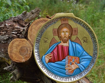Hand painted Christian Icon