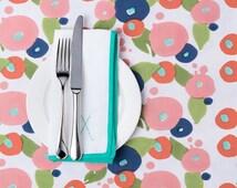 TIPI Interiors Block Printed Tablecloth