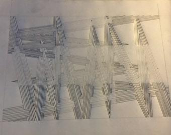 Dimensional Line Drawing