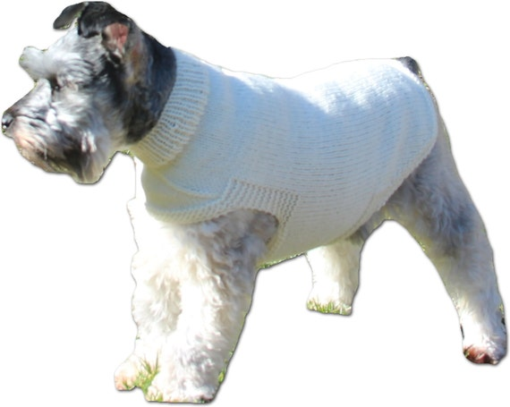 The Freddie Dog Sweater Pattern