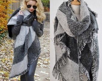 Woman's Winter Scarf & Shawl Wrap