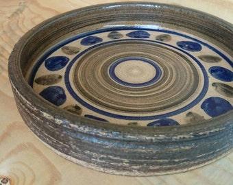 Hudevad Danish pottery bowl