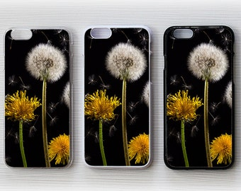 Dandelion Flower Hard Case Cover Skin For Apple iPhone 4, 4S, 5, 5S, 5C, 6, 6Plus / Samsung Galaxy S3, S4, S5, Note3, Note4 - A-22