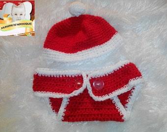 Whole onesie baby birth made crochet
