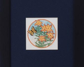 Monarch Among Lillies