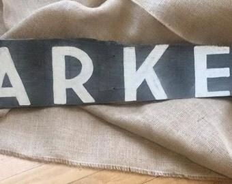 Grey Market Sign