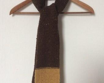 Merino mohair scarf