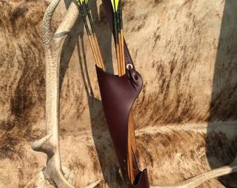 Latigo Side Stalking hunting quiver with side pocket